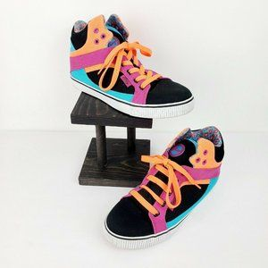 Pastry Sire Colorblock Canvas Hi-Top Sneaker Sz 8